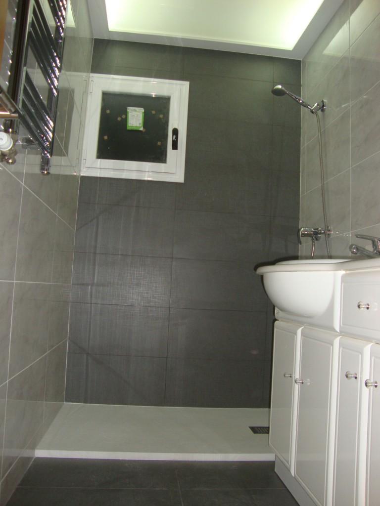 Reforma baño piso de alquiler